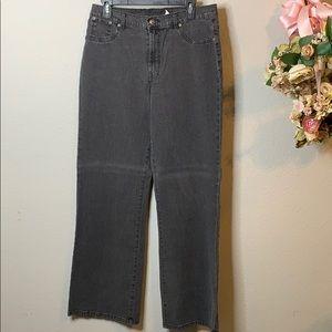 DG2 by Diane Gilman Wide Leg Jeans